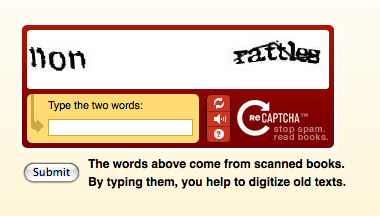 reCAPTCHA